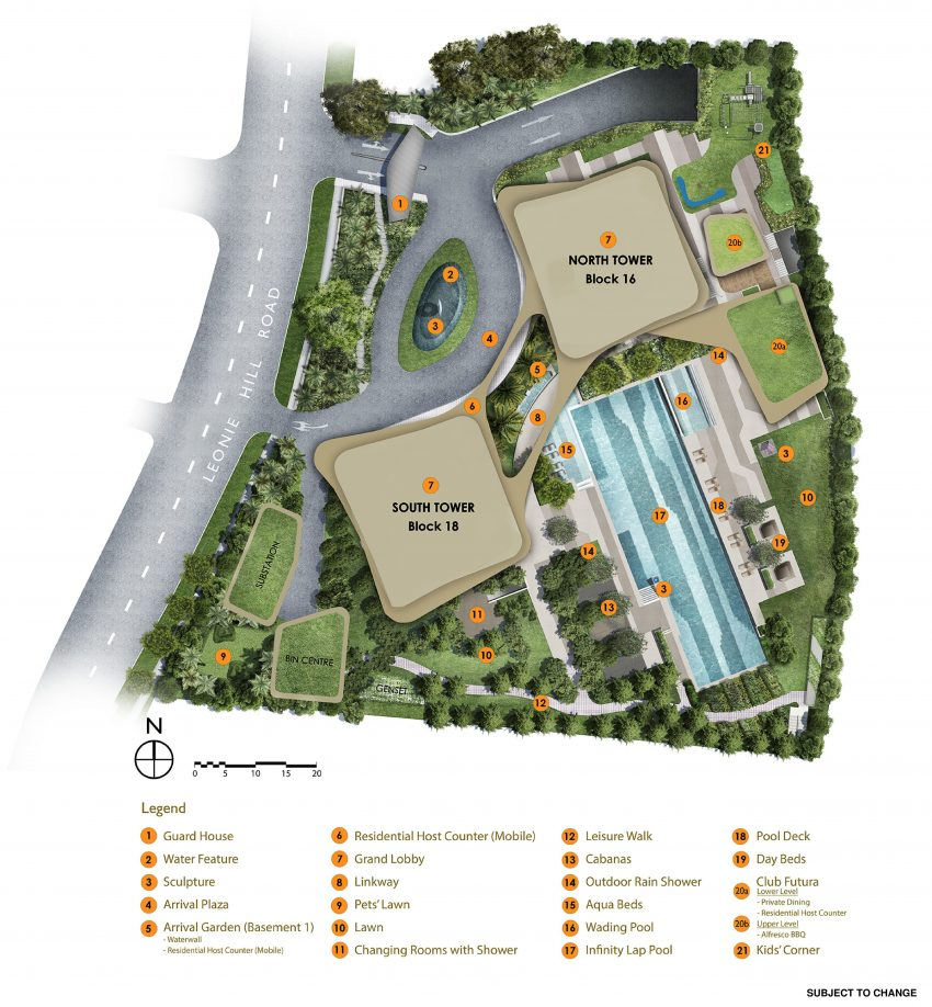 Ground Level Site Plan